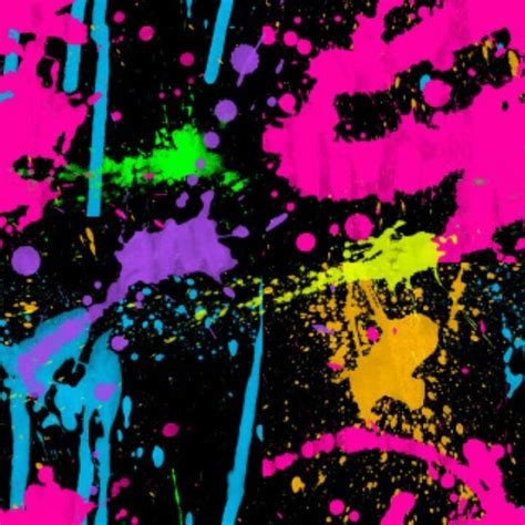 glow in the paint adelaide neon colors and paint splatter neon decorations