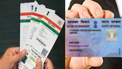 make pan card india how to link your pan card with aadhaar card here is