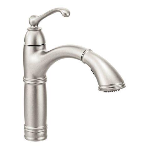 moen brantford kitchen faucet moen brantford single handle pull out sprayer kitchen