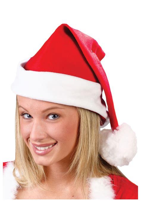 in santa hat fleece santa hat