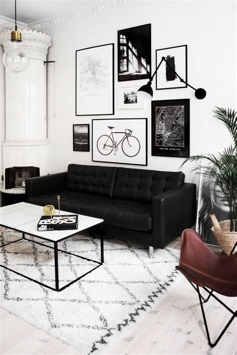 black and living room best 25 black sofa ideas on black sofa living