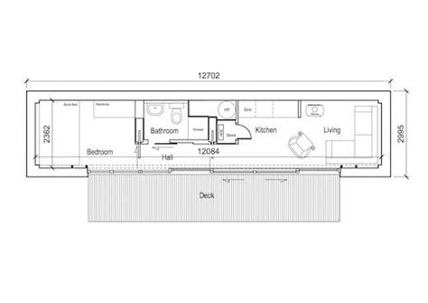 Bunk Room Floor Plans jetson green ireland s first shipping container home