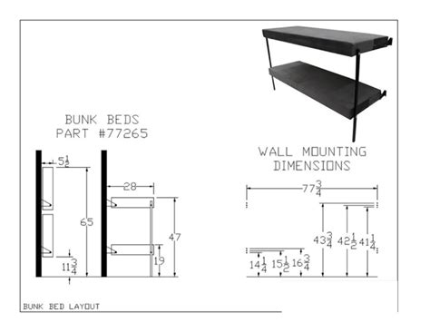 folding bunk bed plans folding bunk bed 77265 mod rollaway beds shipped within