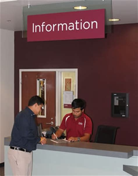 student center information desk student center services