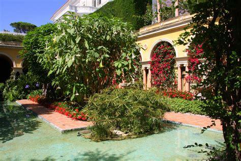Der Garten Auf Spanisch by St Jean Cap Ferrat Provence In Wort Und Bild
