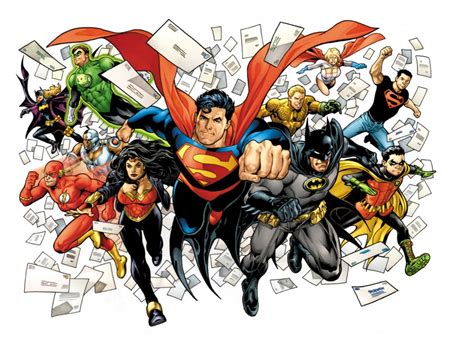 comic book pictures superheroes dc comics brings back the letters page