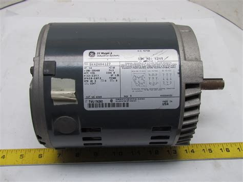 General Electric Ac Motor by General Electric 5k42hn4127 3ph Ac Motor 1 2hp 1725 Rpm
