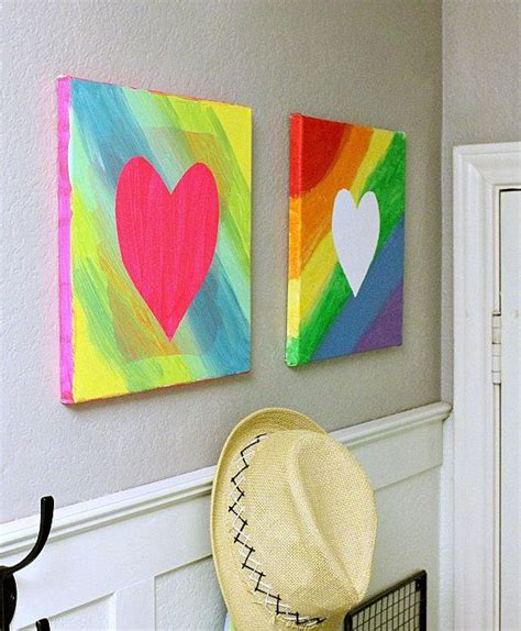 canvas craft ideas for best 20 canvas ideas on tissue paper