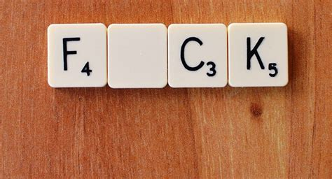 f words for scrabble swearing makes you feel better f word expert claims