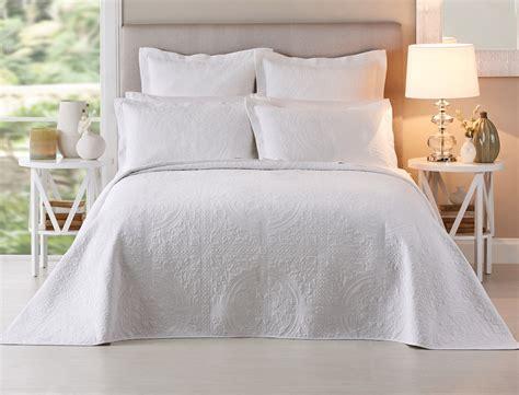 bed bedspreads artemida white bedspread bed bath n table