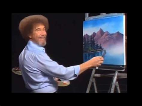 bob ross painting asmr bob ross facts whispered asmr icons 1