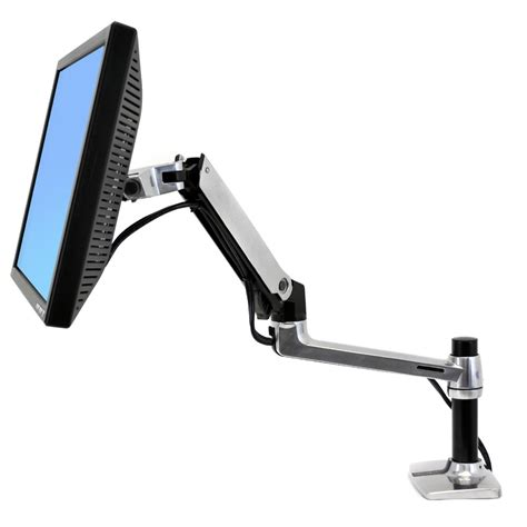 lx desk mount lcd arm monitor arm 45 241 026 ergotron lx desk mount