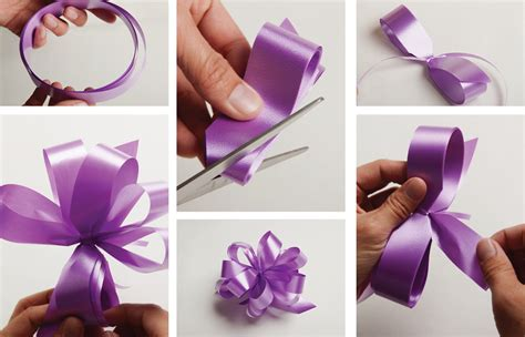 how to make a ribbon bow for a card diy pom pom the koch
