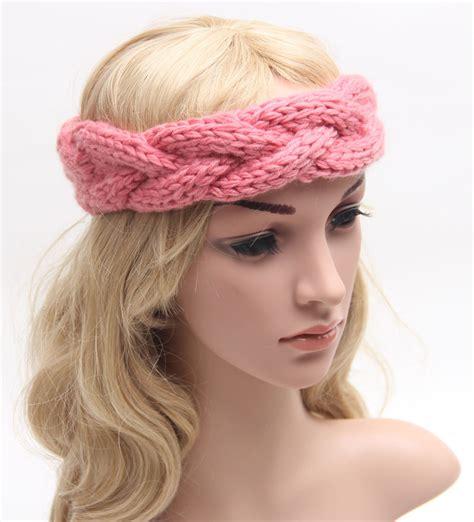 how to knit hair band braided knitted headband knit hair band turban headband