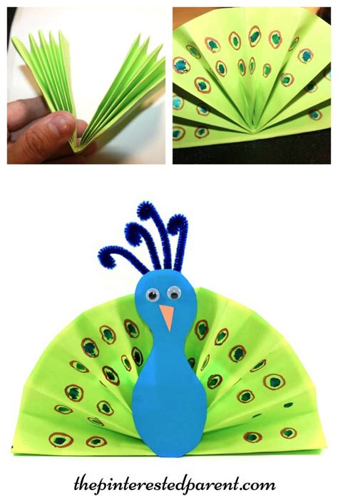 arts and crafts with paper 25 best ideas about peacock crafts on paint