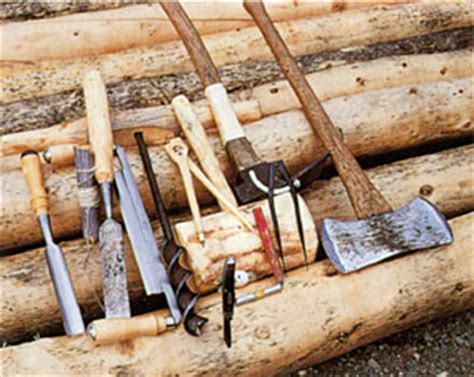 pioneer woodworking tools proenneke quot one s wilderness quot wood trails