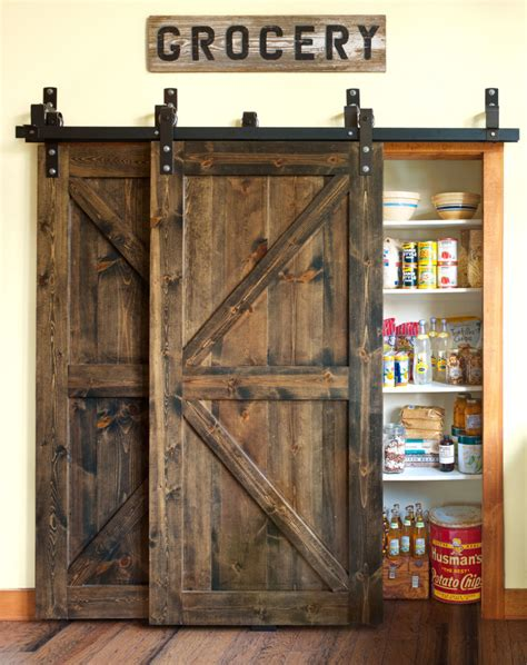 barn door for pantry 12 barn door projects that will make you want to remodel