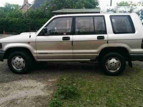 how petrol cars work 1997 isuzu trooper interior lighting isuzu trooper 3 1td lwb 1997 low mileage exc engine gearbox car for sale