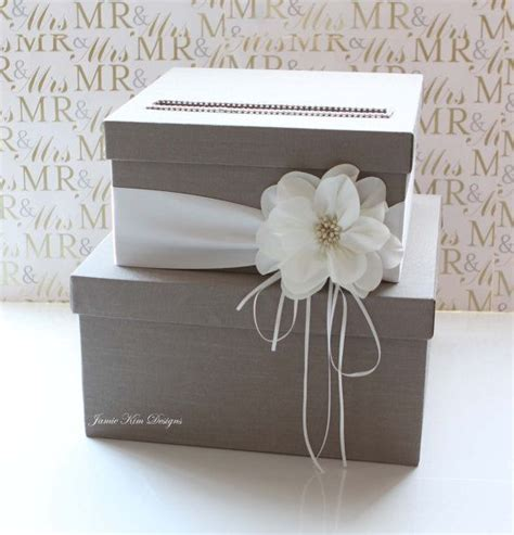 how to make gift card boxes for weddings wedding card box wedding money box gift card box custom