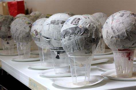 paper mache recycling lessons at home blackle mag