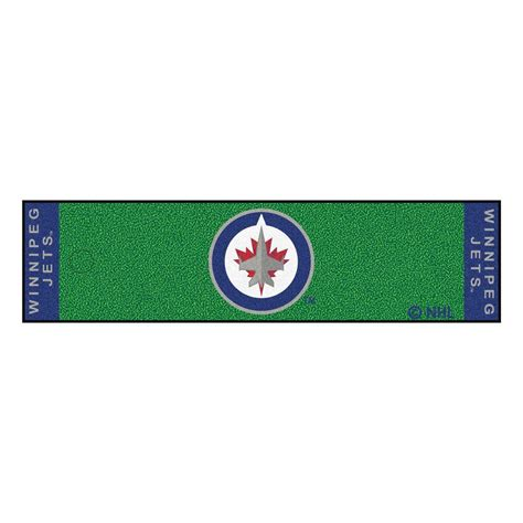 home depot paint winnipeg fanmats nhl winnipeg jets 1 ft 6 in x 6 ft indoor 1