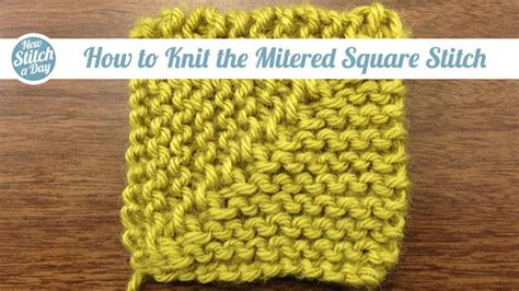 how to knit a mitered corner 203 best images about domino knitting dominostrikk on
