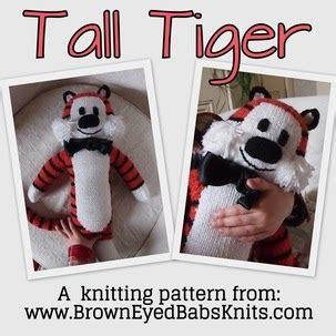 tiger knitting pattern free browneyedbabs knitting patterns free tiger pattern