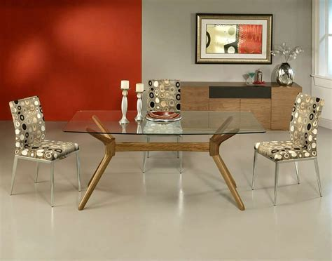 glass dining room table sets complement the decor kitchen with dining room table sets
