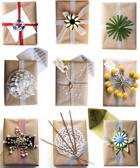 wrapping paper craft stylish gift wrap ideas