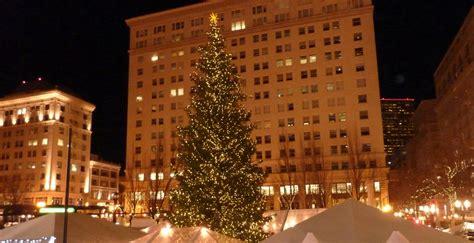 pioneer square tree 2017 ale festival winter festival in