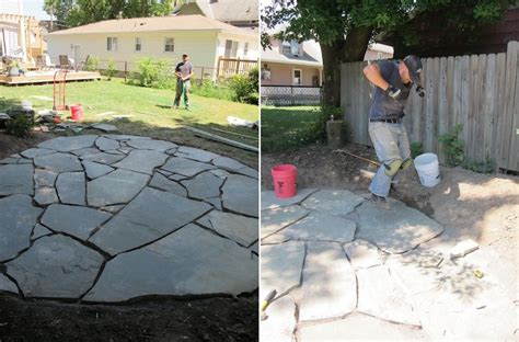 flagstone patio designs how to set up a flagstone patio design