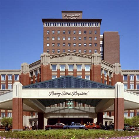 Henry Ford Hospital Detroit Mi by 25 Best Ideas About Henry Ford Hospital On
