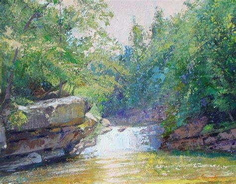 acrylic painting landscape acrylic painting classes and workshops salon