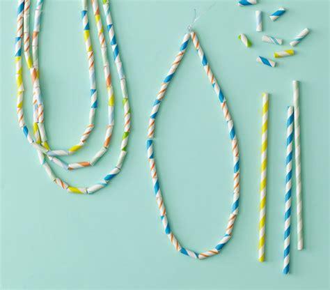 paper straw crafts paper straw tutorials u create