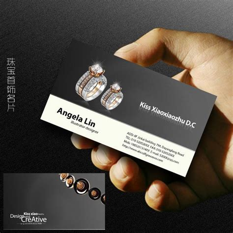 business cards for jewelry 32 best jewelry business card images on