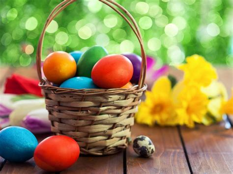 for easter how a bunny baskets and eggs got connected with easter
