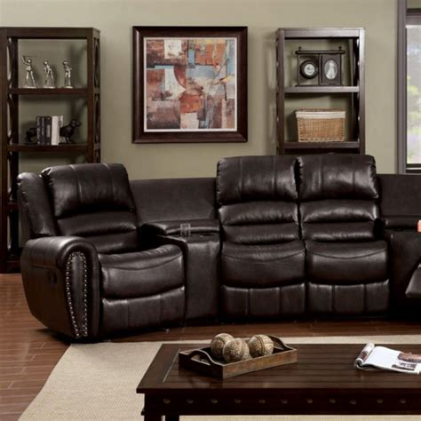 home theatre sectional sofa washburn home theatre sectional