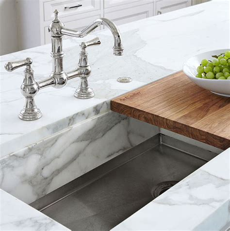 marble kitchen sink sink with marble lip built to fit a cutting board light