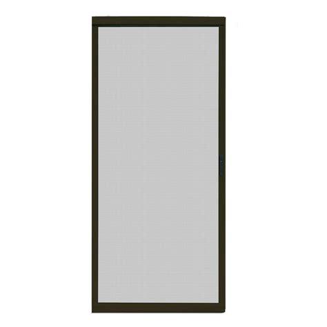 sliding patio screen doors home depot unique home designs 36 in x 80 in ultimate bronze metal sliding patio screen door