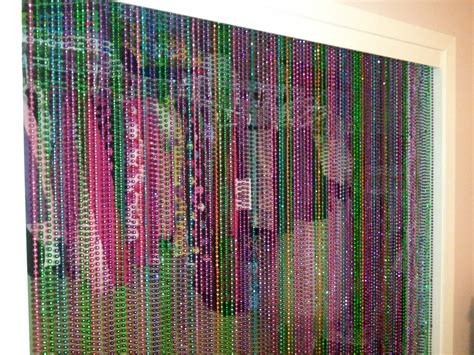 beaded curtains for closet doors ways to reuse mardi gras cut in half to strings of