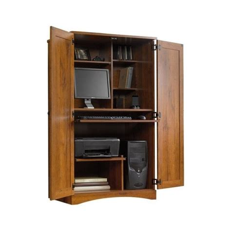 computer armoire furniture computer armoire wood desk workstation cabinet home office
