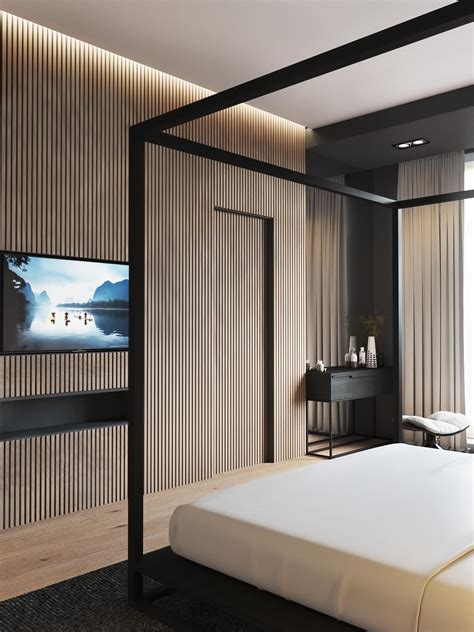 unique design bedroom interior feature 4 luxury bedrooms with unique wall details