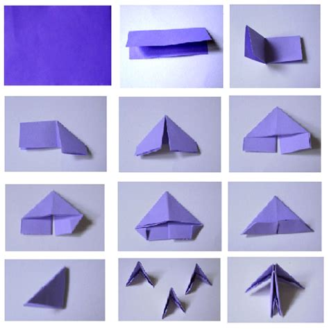 how to make origami 3d shapes origami butterfly 3d aflowerinjapan