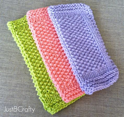 easy knitting dishcloth patterns for beginners seed stitch dishcloths just be crafty