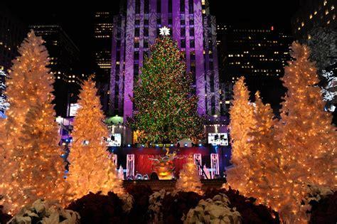tree in new york rockefeller center 2014 82nd annual rockefeller center tree lighting