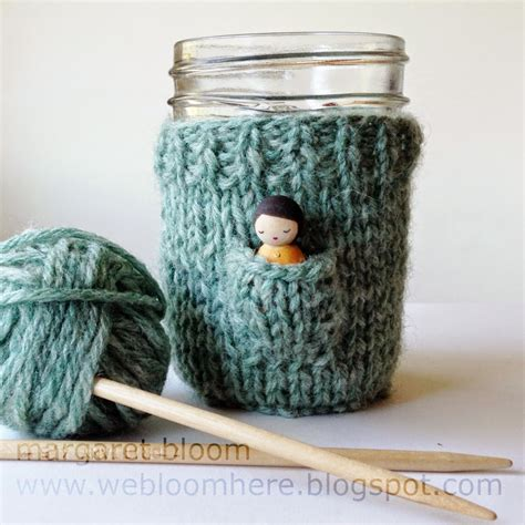 how to knit a mug cosy beverage cosy knitting patterns in the loop knitting