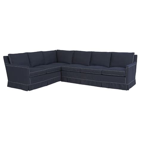 slipcover sofa sectional kyle slipcover sectional luxe home company