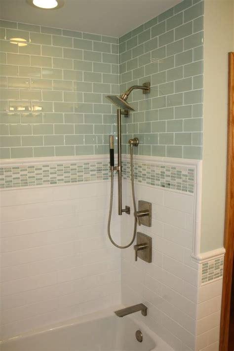 glass tiles bathroom ideas 37 green glass bathroom tile ideas and pictures