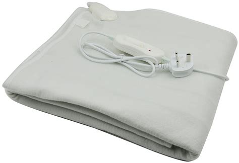 electric blanket for bed comfy luxury electric blanket heated washable