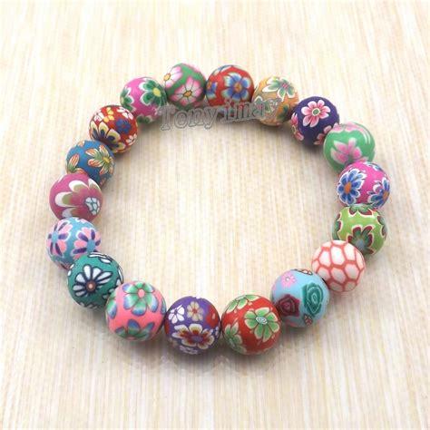 wholesale beaded bracelets fashion polymer clay bracelets free shipping wholesale